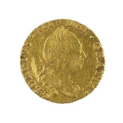 12: George III Half-Guinea 1784.