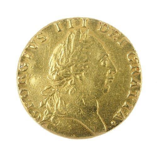 13: George III Guinea, 1789.