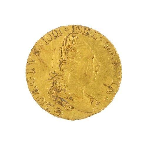14: George III, Half-Guinea, 1779.