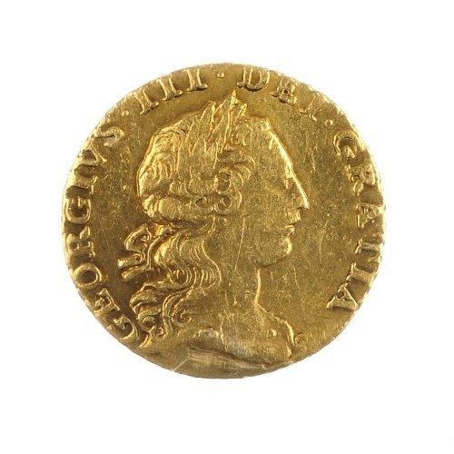 17: George III, Quarter-Guinea 1762.