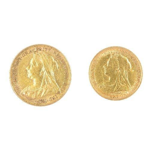 19: Victorian Sovereign & Half-Sovereign.