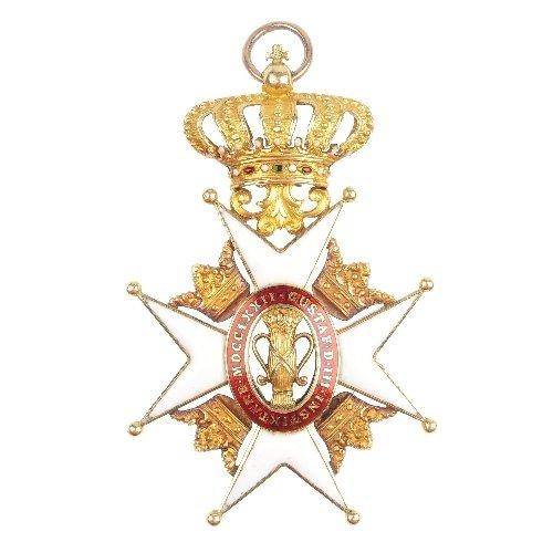 309: Sweden, Order of Vasa 1772, Knight's cross.