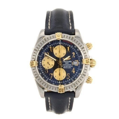 6: (811005611) A stainless steel automatic Breitling Wi