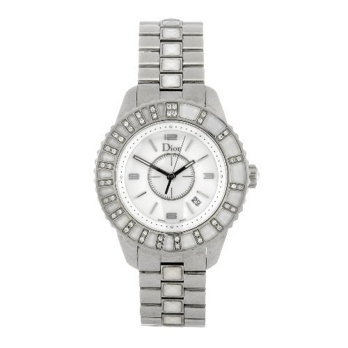 12: (89321) A stainless steel quartz lady's Dior Christ