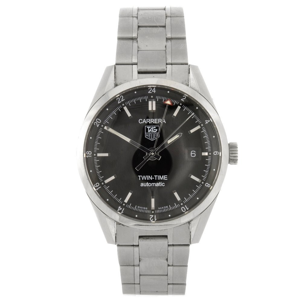 14: (118507-1-A) A stainless steel automatic gentleman'