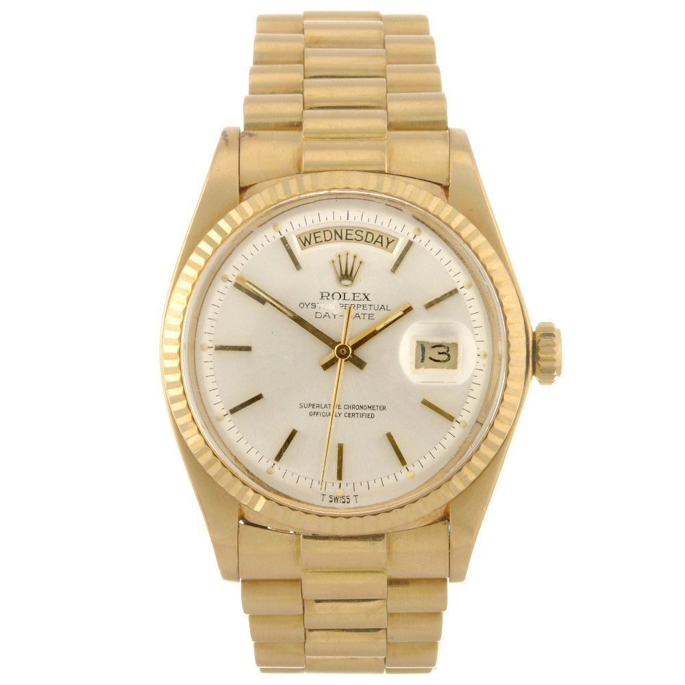 436: (528167-1-A) An 18k gold automatic gentleman's Rol
