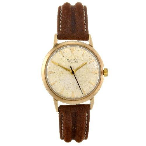 10: A 9ct gold manual wind gentleman's Blancpain wrist