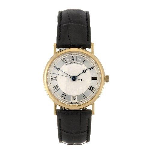 11: An 18k gold automatic gentleman's Breguet Classique