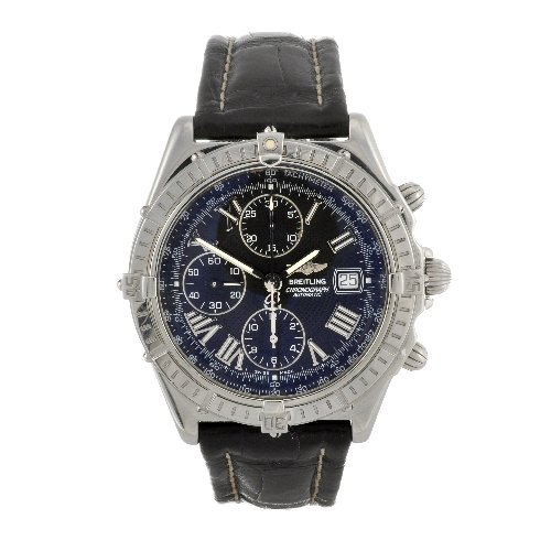 22: A stainless steel automatic gentleman's Breitling W