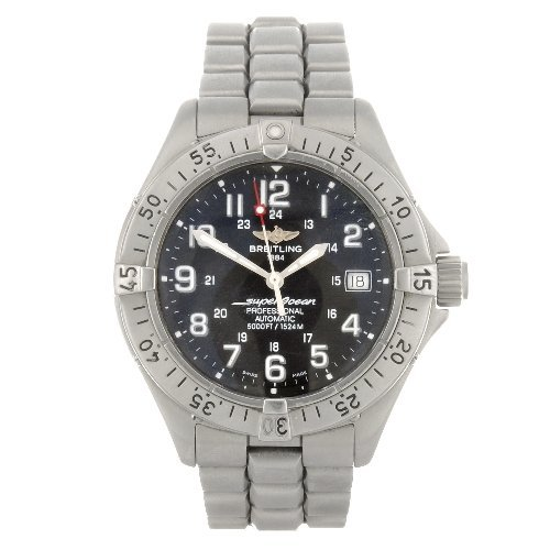 23: A stainless steel automatic gentleman's Breitling S