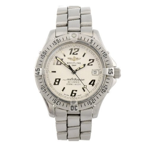 8: (119175936) A stainless steel automatic gentleman's