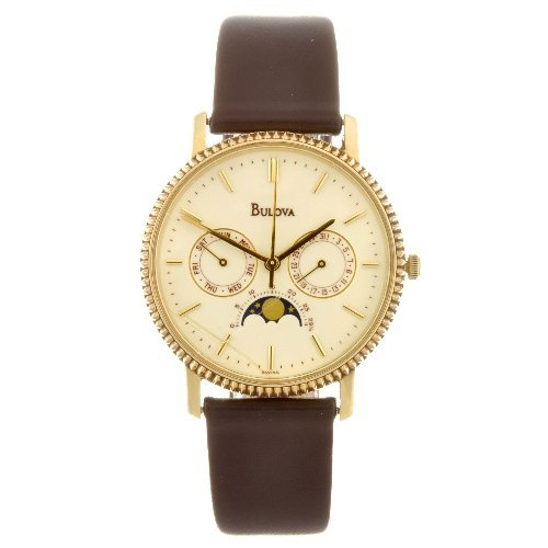 13: (903004146) A 14k gold quartz chronograph gentleman