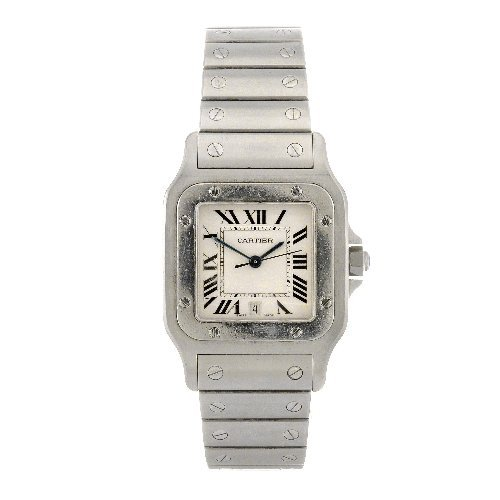 20: (605010082) A stainless steel quartz gentleman's Ca