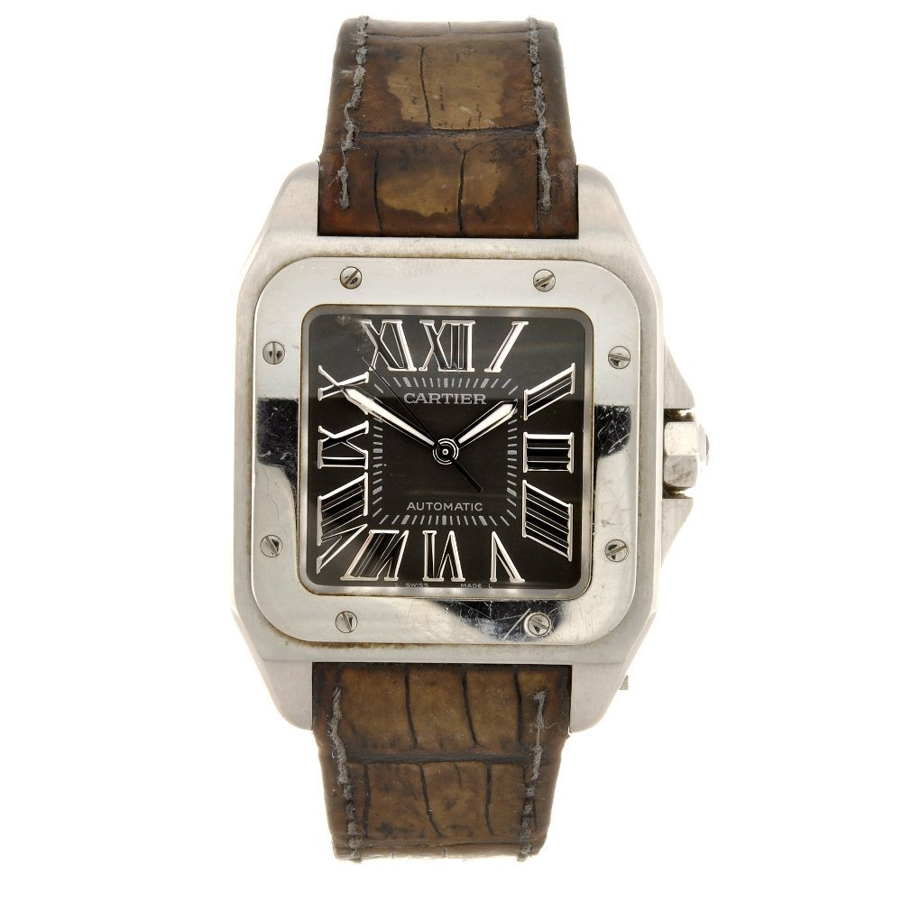 20: (52699) A stainless steel automatic gentleman's Car