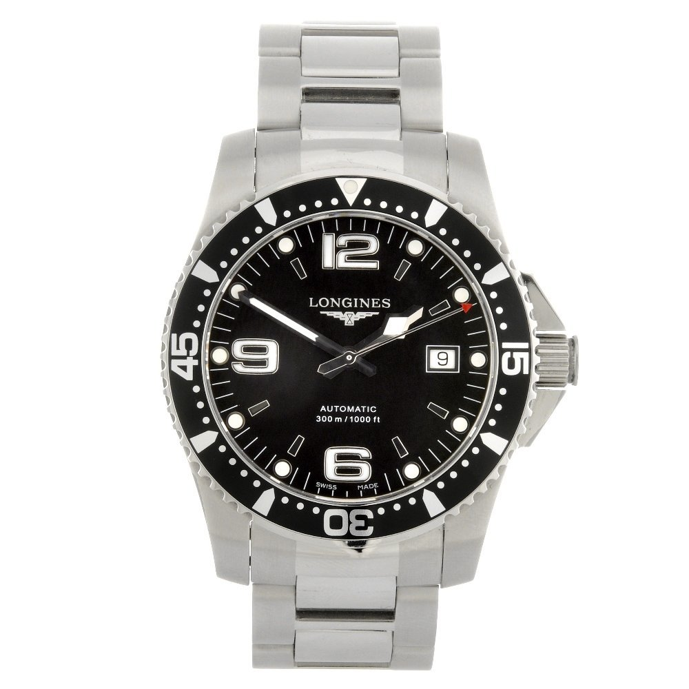 33: (413014513) A stainless steel automatic gentleman's
