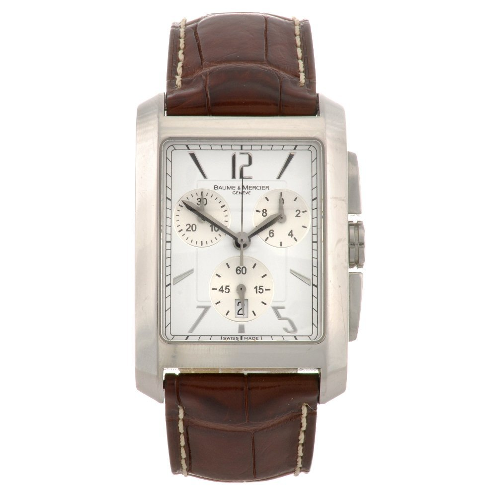5: A stainless steel quartz gentleman's Baume & Mercier