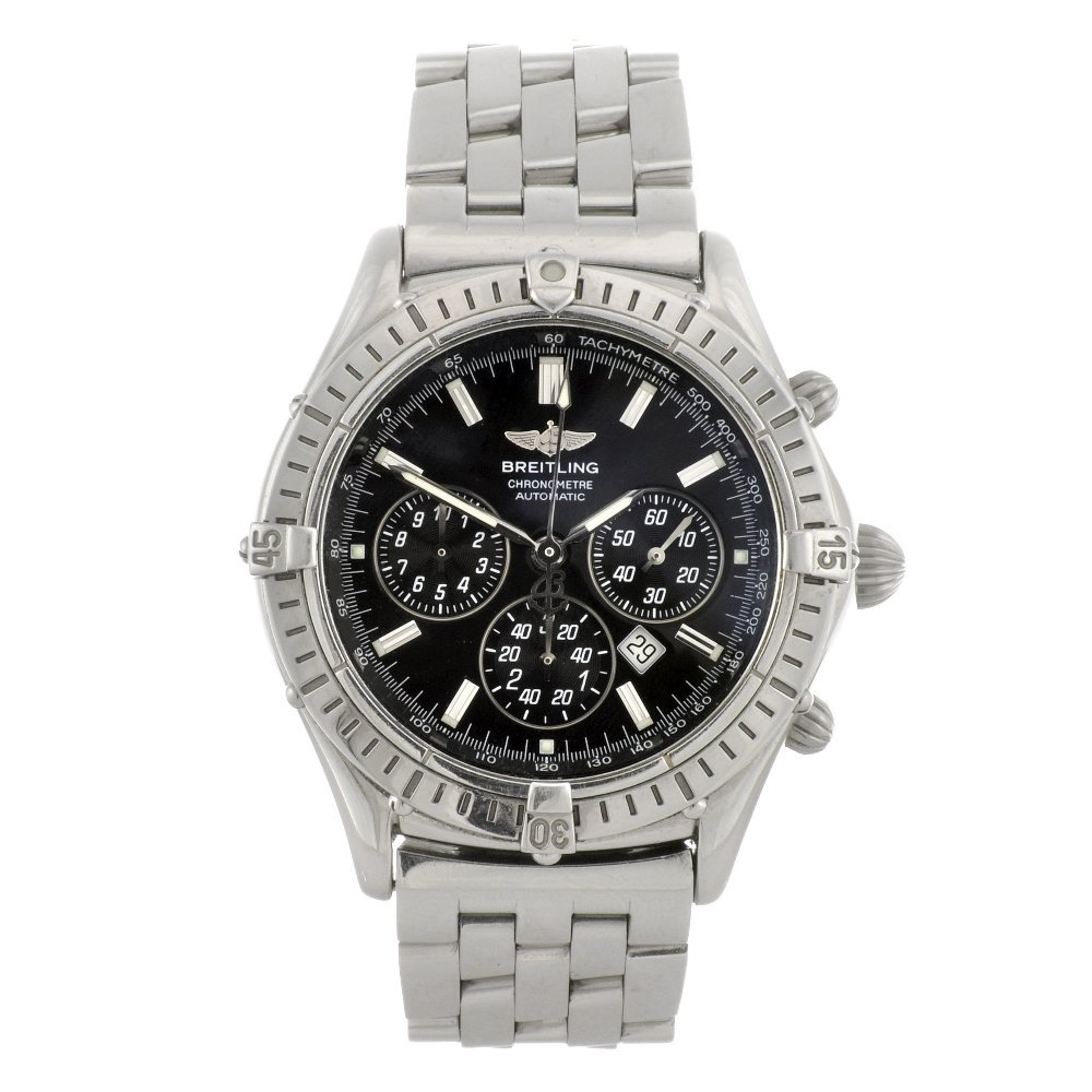 7: (809030730) A stainless steel automatic gentleman's