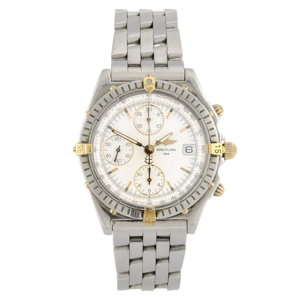 11: (95937) A stainless steel automatic gentleman's Bre