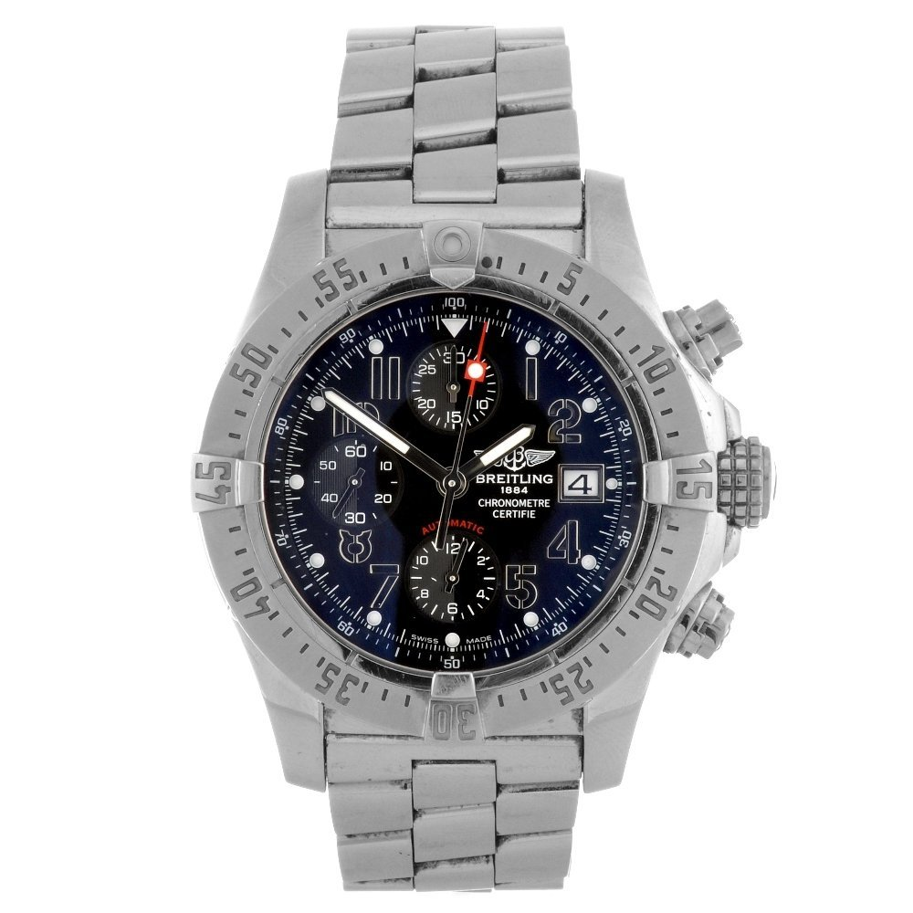 12: (95986) A stainless steel gentleman's automatic chr