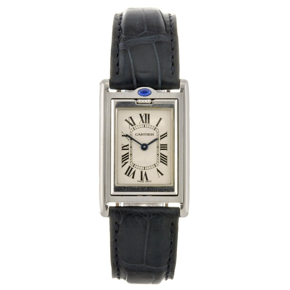 20: (809030931) A pair of Cartier watches.