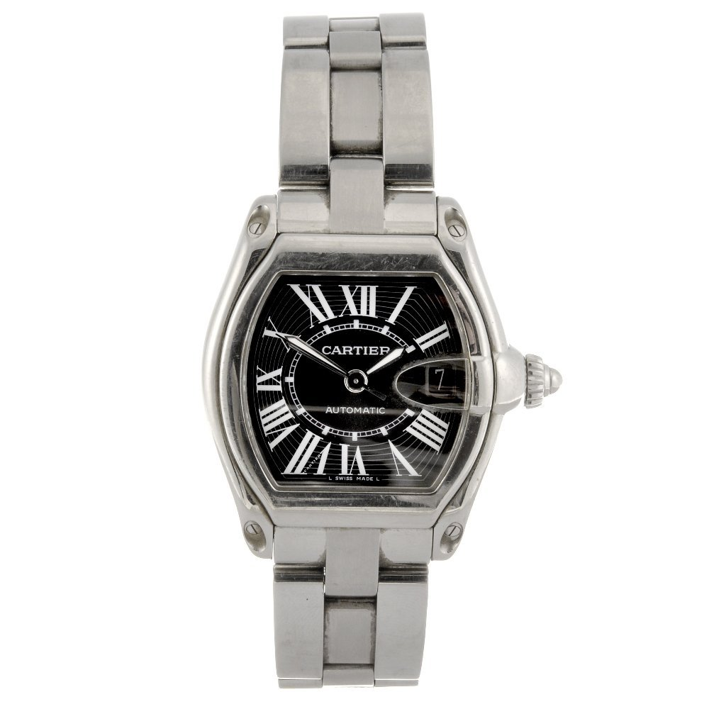 24: (95587) A stainless steel automatic gentleman's Car