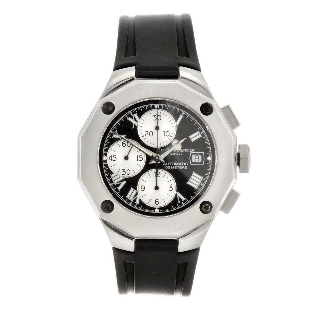 1: (97037) A stainless steel automatic chronograph gent
