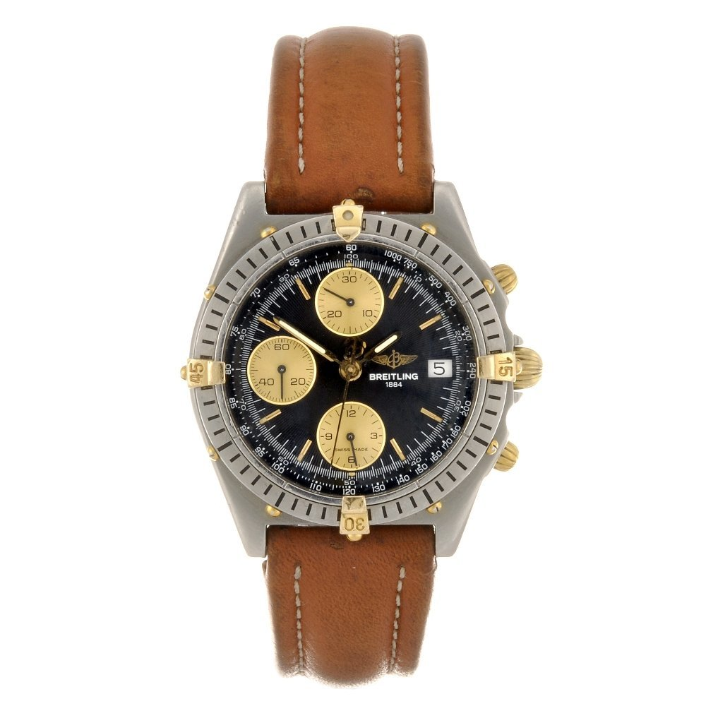 4: (49236) A stainless steel automatic gentleman's Brei