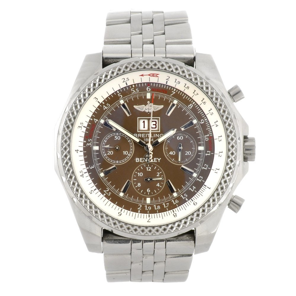 12: A stainless steel automatic chronograph gentleman's