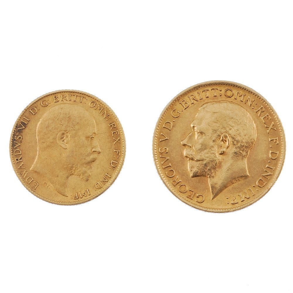 21: Sovereign and half-sovereign.