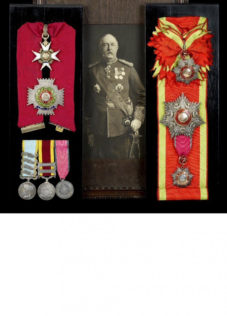 298: Collection of medals and memorabilia belonging to