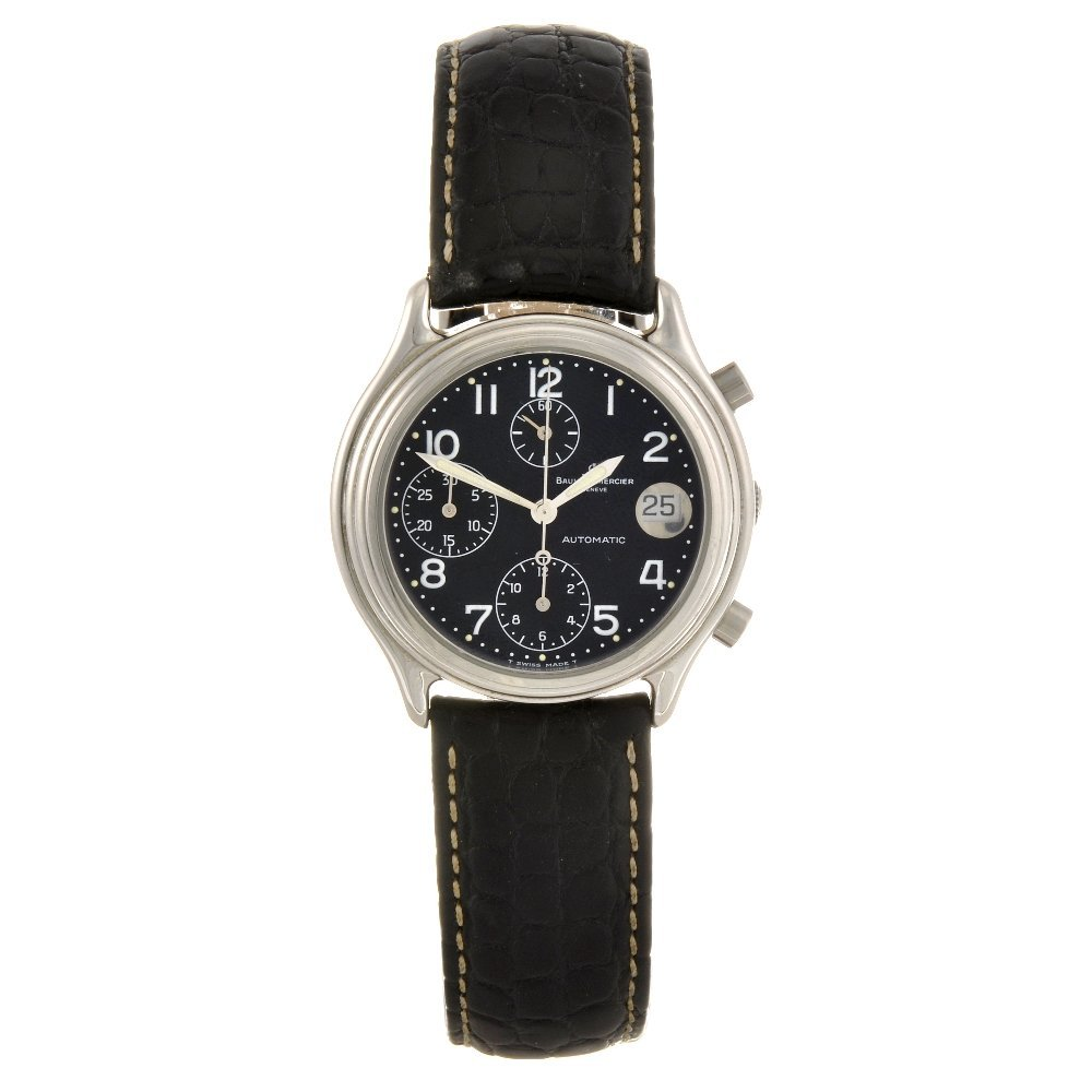 1: (311124478) A stainless steel automatic gentleman's