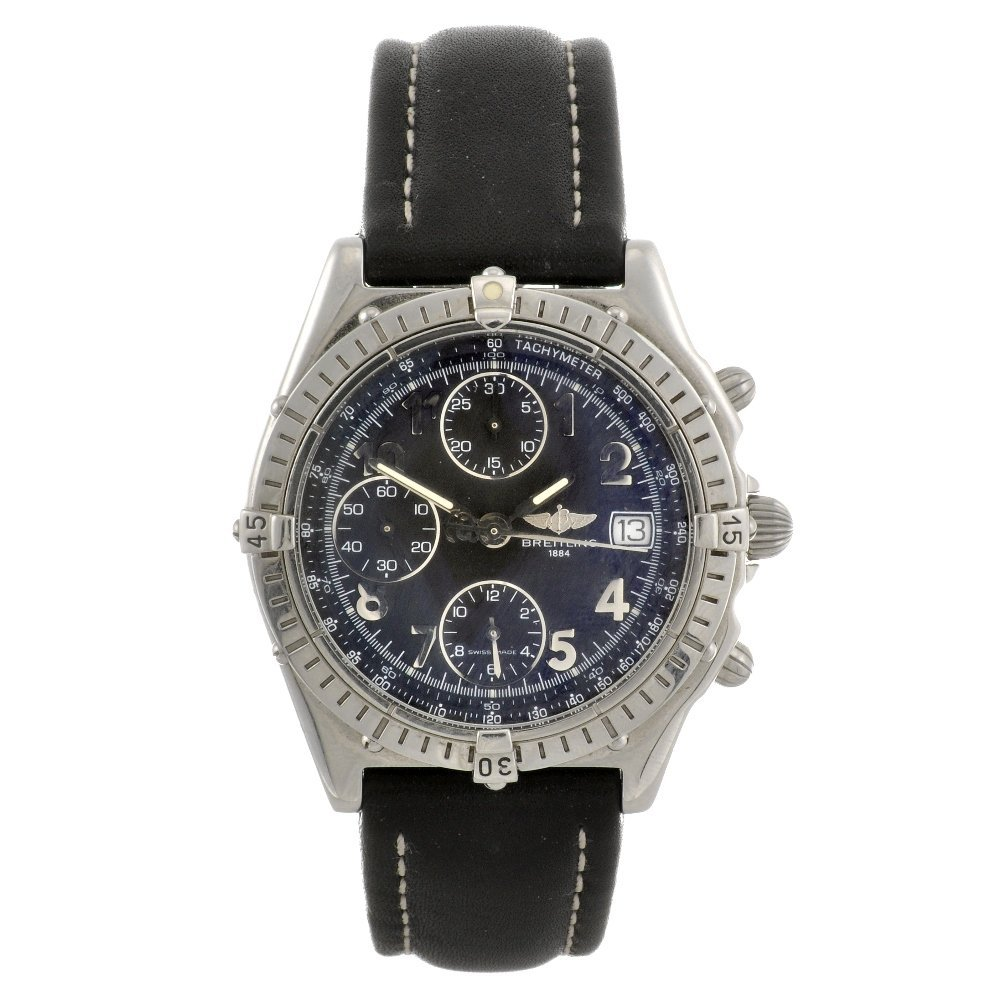 4: (134177130) A stainless steel automatic gentleman's