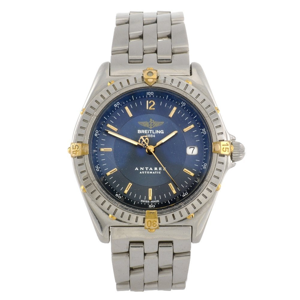 12: (100479) A stainless steel automatic gentleman's Br