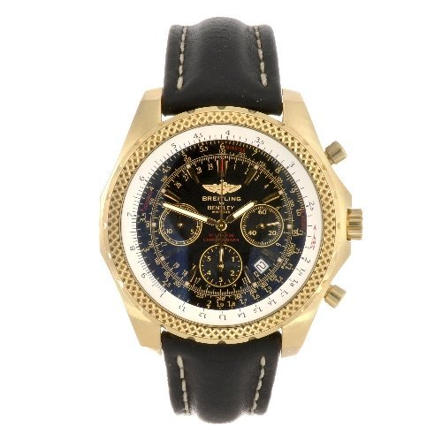 7: (95569) An 18k gold automatic gentleman's Breitling