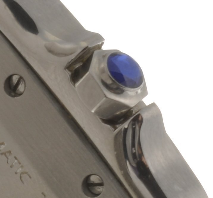 20: (119176149) A bi-metal automatic Cartier Santos bra - 3