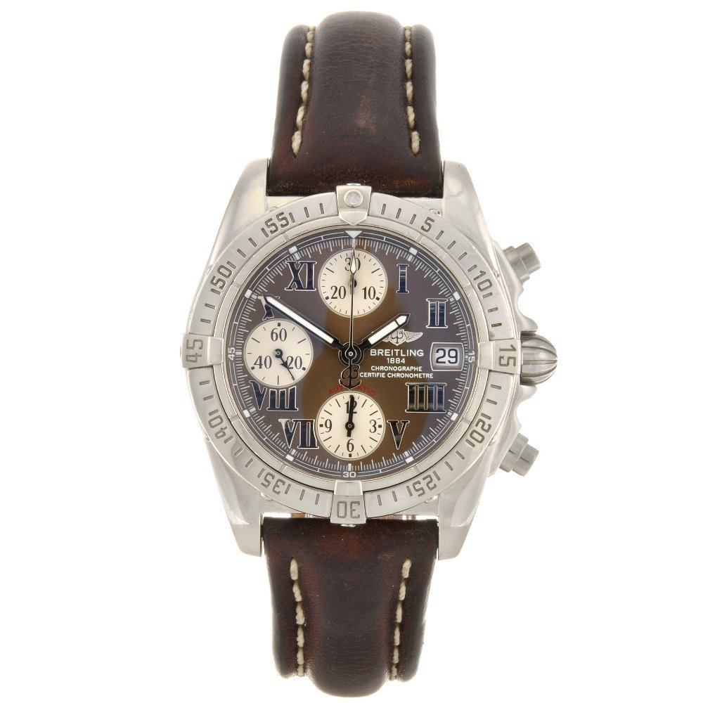 4: (412023148) A stainless steel automatic gentleman's