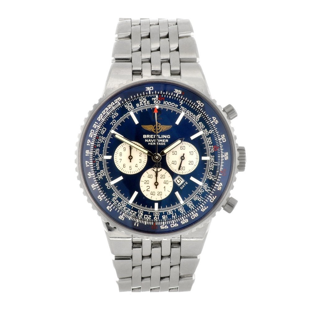 8: (918001783) A stainless steel automatic gentleman's