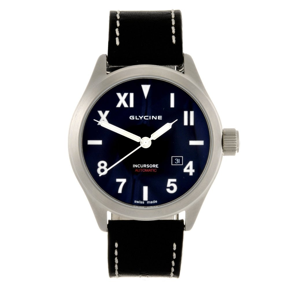 21: A stainless steel automatic gentleman's Glycine Inc