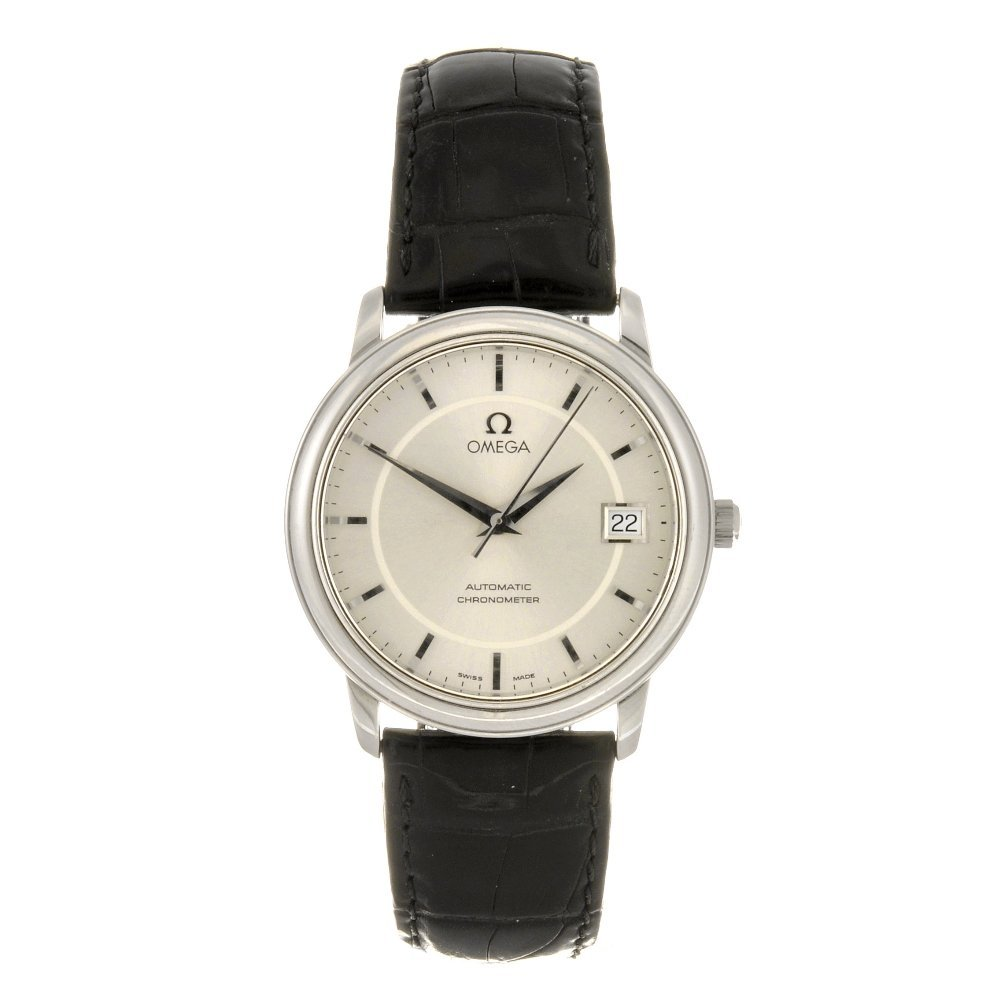 42: (504005062) A stainless steel automatic gentleman's