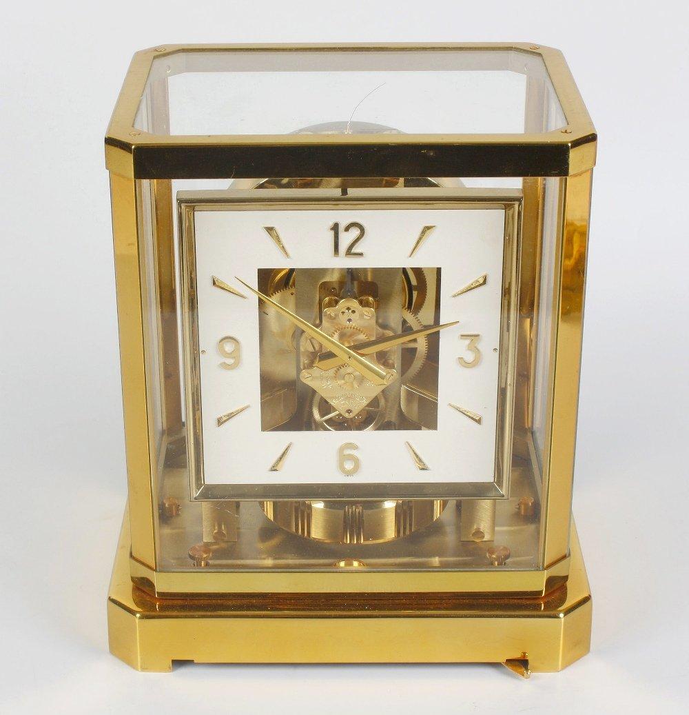 A Jaeger LeCoultre Atmos clock