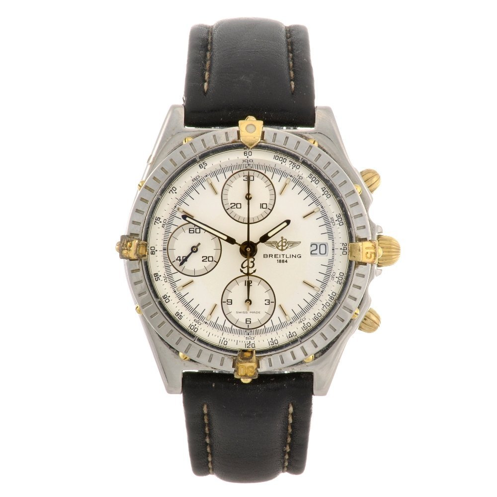 6: A stainless steel automatic chronograph gentleman's