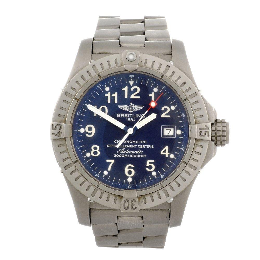 8: (0000225) A titanium automatic automatic gentleman's