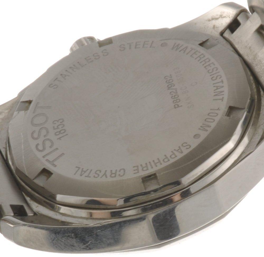 116: A stainless steel quartz gentleman's Tissot PRC br - 2