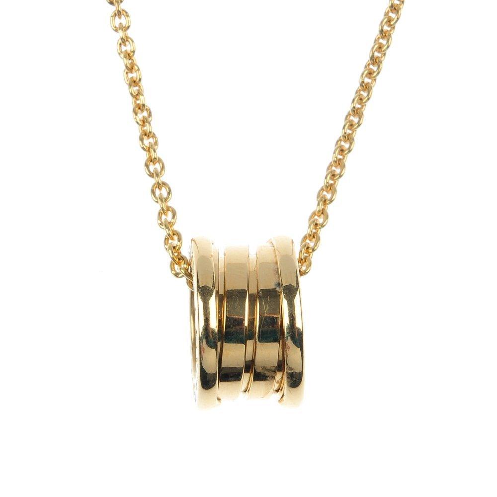 262: BULGARI - A 'B Zero1' pendant.