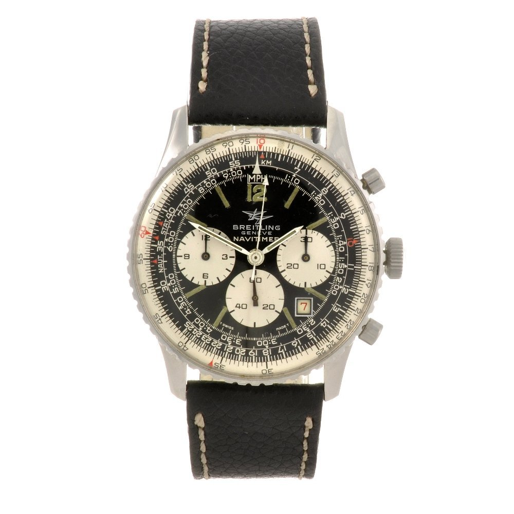 5: (92504) A stainless steel manual wind chronograph ge