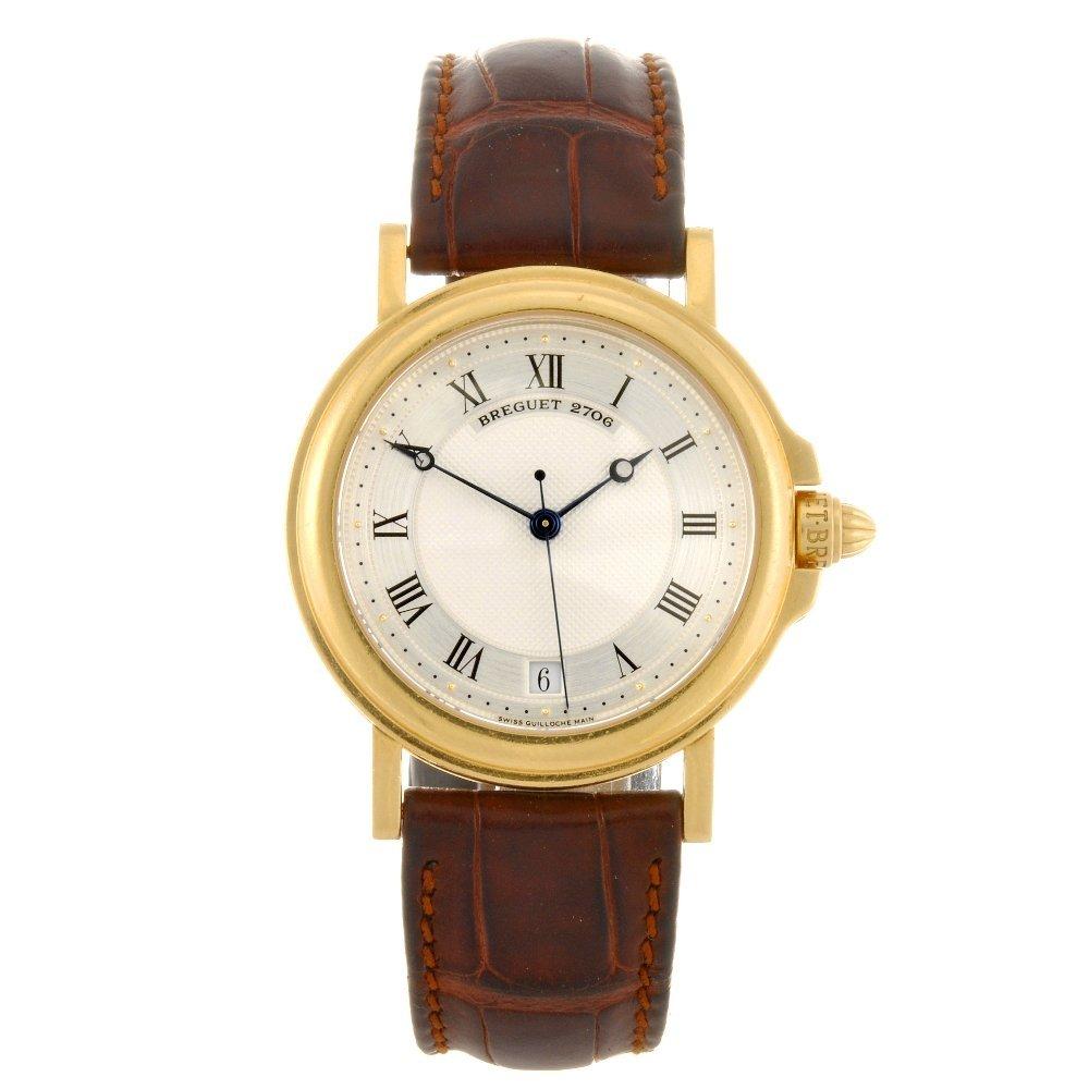 5: An 18k gold automatic gentleman's Breguet wrist watc