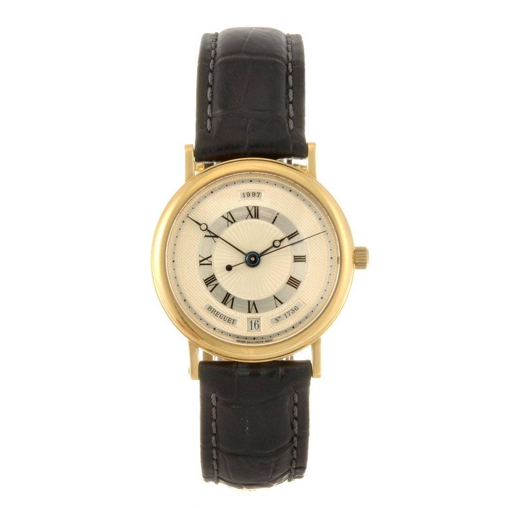 6: An 18k gold automatic gentleman's Breguet wrist watc