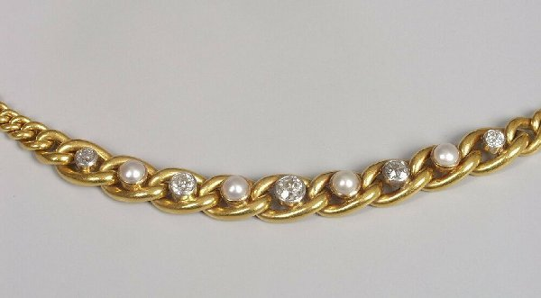 20: French early 20th century diamond and hal
