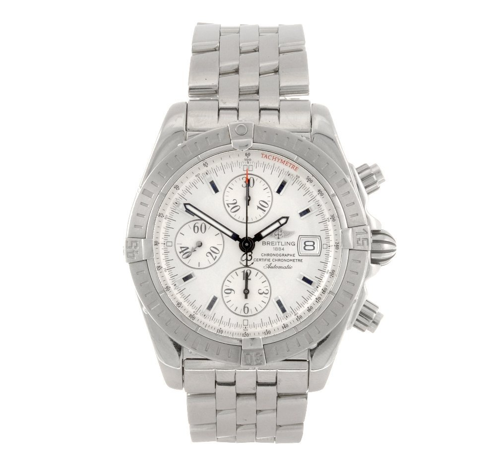 5: (502011671) A stainless steel automatic gentleman's