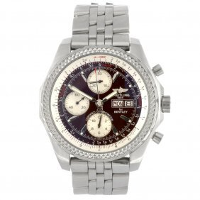 8: (712012273) A stainless steel automatic gentleman's